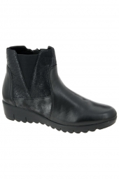 bottines casual remonte d0278-02 g noir