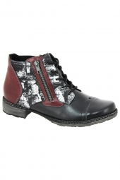 bottines casual remonte d4378-04 g noir