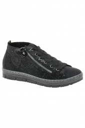 bottines casual remonte d5870-02 noir