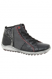 bottines casual remonte r1494-02 noir