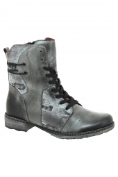 bottines fashion remonte d4366-02 g gris