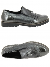 chaussures plates remonte d0114-45 gris