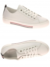 chaussures plates remonte d0900-80 g blanc