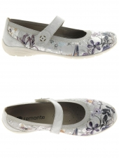 chaussures plates remonte d4632-90 gris