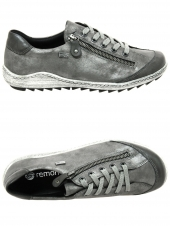 chaussures plates remonte r1402-44 g gris