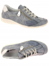 chaussures plates remonte r3405-14 g bleu