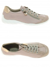 chaussures plates remonte r3435-31 rose
