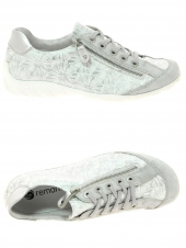 chaussures plates remonte r3435-80 g argent