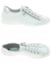 chaussures plates remonte r3435-82 blanc