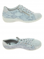 chaussures plates remonte r7626-42 gris