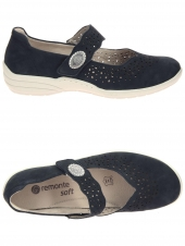chaussures plates remonte r7635-14 h bleu