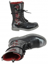 boots replay ramones noir