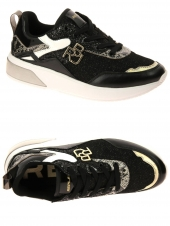 chaussures basses replay miamy noir