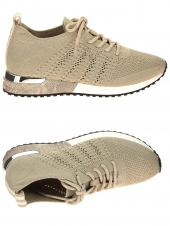 baskets mode reqins ines beige