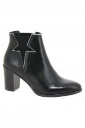 bottines fashion reqins cecile noir