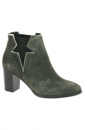 bottines fashion reqins cecile vert