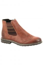 bottines casual rieker 71072-24 marron