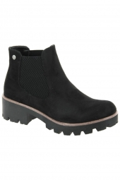 bottines casual rieker 99284-00 noir