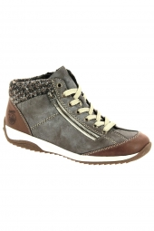 bottines casual rieker l5223-24 gris