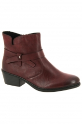 bottines de ville rieker 75553-35 bordeaux