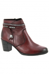 bottines de ville rieker y8999-35 f? bordeaux