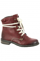 bottines fashion rieker 71229-36 f marron