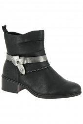 bottines fashion rieker 77679-00 noir