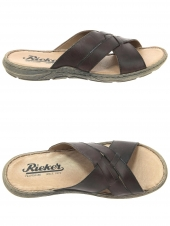 mules casual rieker 22089-25 marron