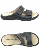mules casual rohde 6502-90 noir