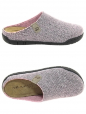 pantoufles mules rohde 6633-44 rose
