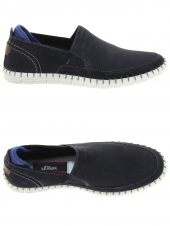 chaussures de style casual s. oliver 14606-805 bleu