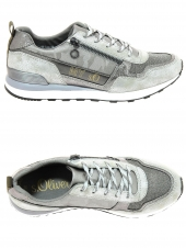 chaussures plates s. oliver 23642-926 gris