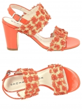 nu-pieds elegants sacha london lucie orange