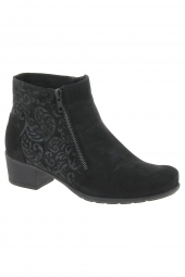 bottines ville solidus 35011-00867 k noir