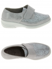 chaussures plates solidus 26530-20195 k gris
