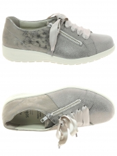 chaussures plates solidus 29062-30227 k taupe