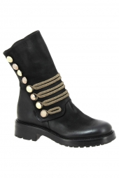 bottes mi-mollets strategia a3386 dream noir