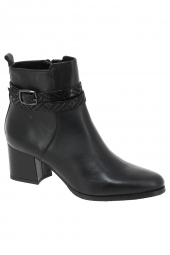 bottines de ville tamaris 25057-003 noir