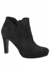 bottines de ville tamaris 25316-001 noir