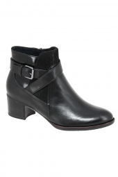 bottines de ville tamaris 25329-098 noir