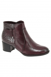 bottines de ville tamaris 25333-595 bordeaux