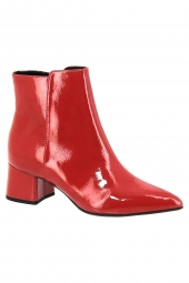 bottines de ville tamaris 25371-520 rouge