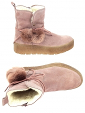 chaussures montantes fourrees tamaris 26972-591 rose