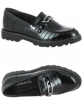mocassins tamaris 24601-028 noir
