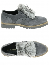 Chaussures Plates Tango Shoes Bee-18-Zb Gris pexJG2pUD