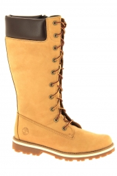 bottes timberland courma kid tall zip jaune