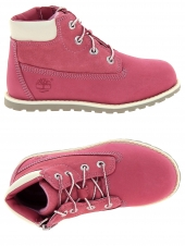 bottillons timberland pokey pine 6in boot rose