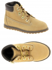 bottillons timberland pokeypine 6in boot with side jaune