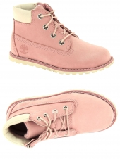bottillons timberland pokeypine 6in zip boot rose