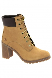 bottines fashion timberland allington 6in lace up jaune
